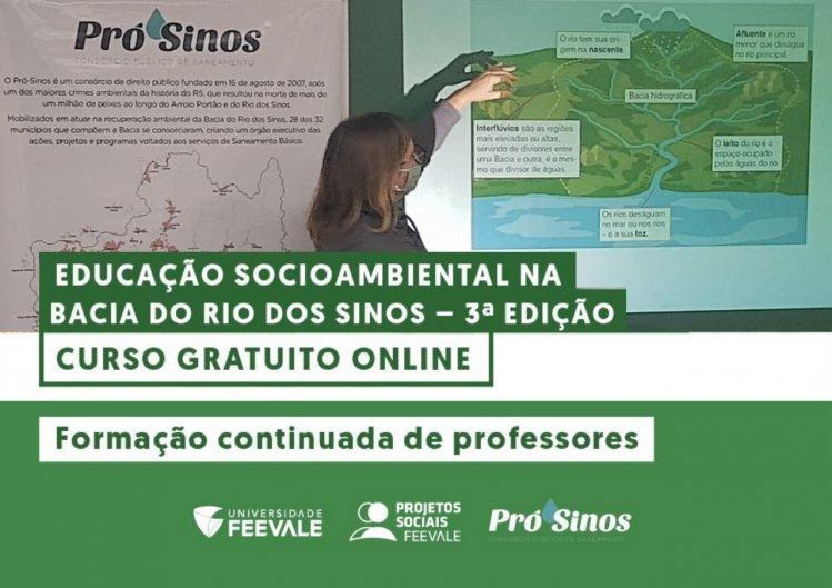 Curso de Formação de Professores é realizado em parceria entre o Consórcio Pró-Sinos e a Universidade Feevale